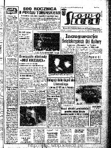 Słowo Ludu : organ Komitetu Wojewódzkiego Polskiej Zjednoczonej Partii Robotniczej, 1966, R.18, nr 254