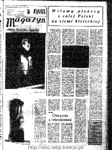 Słowo Ludu : organ Komitetu Wojewódzkiego Polskiej Zjednoczonej Partii Robotniczej, 1966, R.18, nr 260 (magazyn)
