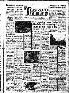 Słowo Ludu : organ Komitetu Wojewódzkiego Polskiej Zjednoczonej Partii Robotniczej, 1966, R.18, nr 269