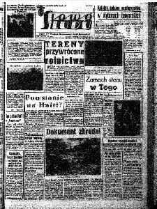 Słowo Ludu : organ Komitetu Wojewódzkiego Polskiej Zjednoczonej Partii Robotniczej, 1966, R.18, nr 326
