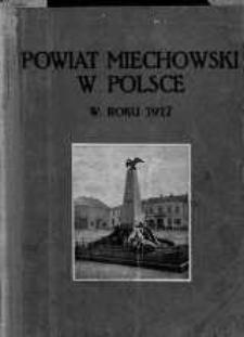 Powiat miechowski w Polsce w roku 1917