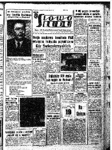 Słowo Ludu : organ Komitetu Wojewódzkiego Polskiej Zjednoczonej Partii Robotniczej, 1966, R.18, nr 353