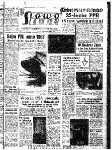 Słowo Ludu : organ Komitetu Wojewódzkiego Polskiej Zjednoczonej Partii Robotniczej, 1967, R.19, nr 11