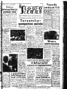 Słowo Ludu : organ Komitetu Wojewódzkiego Polskiej Zjednoczonej Partii Robotniczej, 1967, R.19, nr 23