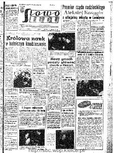 Słowo Ludu : organ Komitetu Wojewódzkiego Polskiej Zjednoczonej Partii Robotniczej, 1967, R.19, nr 38