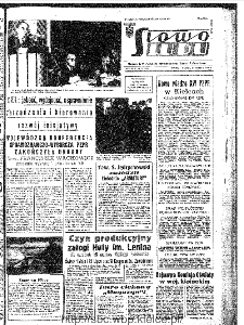 Słowo Ludu : organ Komitetu Wojewódzkiego Polskiej Zjednoczonej Partii Robotniczej, 1967, R.19, nr 48