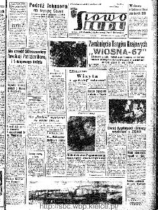 Słowo Ludu : organ Komitetu Wojewódzkiego Polskiej Zjednoczonej Partii Robotniczej, 1967, R.19, nr 79