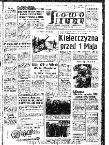 Słowo Ludu : organ Komitetu Wojewódzkiego Polskiej Zjednoczonej Partii Robotniczej, 1967, R.19, nr 103