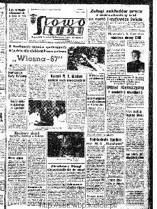 Słowo Ludu : organ Komitetu Wojewódzkiego Polskiej Zjednoczonej Partii Robotniczej, 1967, R.19, nr 104