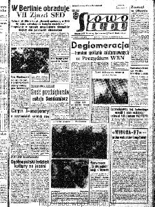Słowo Ludu : organ Komitetu Wojewódzkiego Polskiej Zjednoczonej Partii Robotniczej, 1967, R.19, nr 108