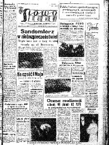 Słowo Ludu : organ Komitetu Wojewódzkiego Polskiej Zjednoczonej Partii Robotniczej, 1967, R.19, nr 118