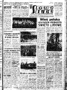 Słowo Ludu : organ Komitetu Wojewódzkiego Polskiej Zjednoczonej Partii Robotniczej, 1967, R.19, nr 135