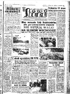 Słowo Ludu : organ Komitetu Wojewódzkiego Polskiej Zjednoczonej Partii Robotniczej, 1967, R.19, nr 159