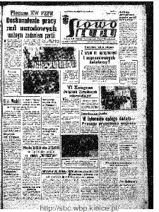 Słowo Ludu : organ Komitetu Wojewódzkiego Polskiej Zjednoczonej Partii Robotniczej, 1967, R.19, nr 173