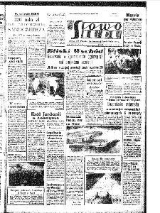 Słowo Ludu : organ Komitetu Wojewódzkiego Polskiej Zjednoczonej Partii Robotniczej, 1967, R.19, nr 185