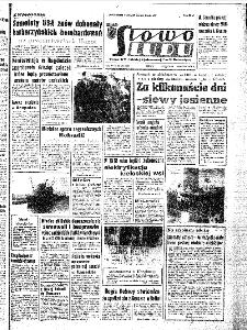 Słowo Ludu : organ Komitetu Wojewódzkiego Polskiej Zjednoczonej Partii Robotniczej, 1967, R.19, nr 234