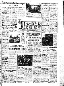 Słowo Ludu : organ Komitetu Wojewódzkiego Polskiej Zjednoczonej Partii Robotniczej, 1967, R.19, nr 237