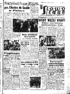 Słowo Ludu : organ Komitetu Wojewódzkiego Polskiej Zjednoczonej Partii Robotniczej, 1967, R.19, nr 250