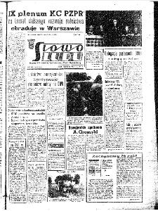 Słowo Ludu : organ Komitetu Wojewódzkiego Polskiej Zjednoczonej Partii Robotniczej, 1967, R.19, nr 272