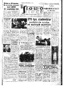 Słowo Ludu : organ Komitetu Wojewódzkiego Polskiej Zjednoczonej Partii Robotniczej, 1967, R.19, nr 276