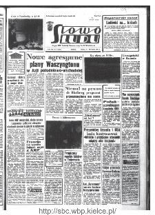 Słowo Ludu : organ Komitetu Wojewódzkiego Polskiej Zjednoczonej Partii Robotniczej, 1968, R.20, nr 10