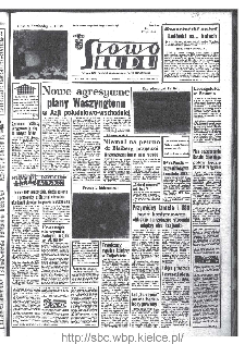 Słowo Ludu : organ Komitetu Wojewódzkiego Polskiej Zjednoczonej Partii Robotniczej, 1968, R.20, nr 31