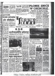 Słowo Ludu : organ Komitetu Wojewódzkiego Polskiej Zjednoczonej Partii Robotniczej, 1968, R.20, nr 38