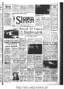Słowo Ludu : organ Komitetu Wojewódzkiego Polskiej Zjednoczonej Partii Robotniczej, 1968, R.20, nr 201
