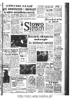 Słowo Ludu : organ Komitetu Wojewódzkiego Polskiej Zjednoczonej Partii Robotniczej, 1968, R.20, nr 218