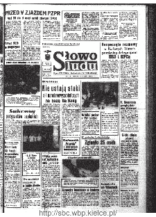 Słowo Ludu : organ Komitetu Wojewódzkiego Polskiej Zjednoczonej Partii Robotniczej, 1968, R.20, nr 226