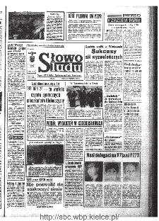 Słowo Ludu : organ Komitetu Wojewódzkiego Polskiej Zjednoczonej Partii Robotniczej, 1968, R.20, nr 262