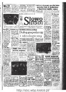 Słowo Ludu : organ Komitetu Wojewódzkiego Polskiej Zjednoczonej Partii Robotniczej, 1968, R.20, nr 267