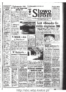 Słowo Ludu : organ Komitetu Wojewódzkiego Polskiej Zjednoczonej Partii Robotniczej, 1968, R.20, nr 268