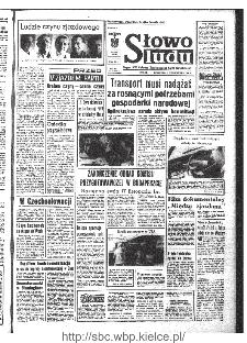 Słowo Ludu : organ Komitetu Wojewódzkiego Polskiej Zjednoczonej Partii Robotniczej, 1968, R.20, nr 277