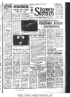 Słowo Ludu : organ Komitetu Wojewódzkiego Polskiej Zjednoczonej Partii Robotniczej, 1968, R.20, nr 280