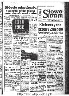 Słowo Ludu : organ Komitetu Wojewódzkiego Polskiej Zjednoczonej Partii Robotniczej, 1968, R.20, nr 313