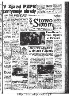 Słowo Ludu : organ Komitetu Wojewódzkiego Polskiej Zjednoczonej Partii Robotniczej, 1968, R.20, nr 319