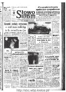 Słowo Ludu : organ Komitetu Wojewódzkiego Polskiej Zjednoczonej Partii Robotniczej, 1968, R.20, nr 337
