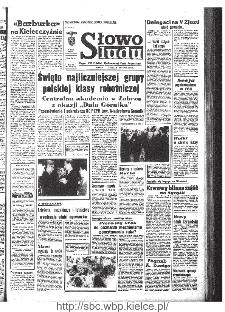 Słowo Ludu : organ Komitetu Wojewódzkiego Polskiej Zjednoczonej Partii Robotniczej, 1968, R.20, nr 339