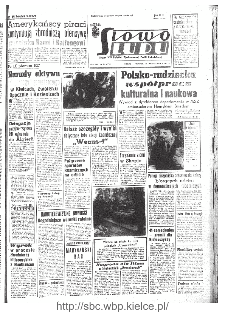 Słowo Ludu : organ Komitetu Wojewódzkiego Polskiej Zjednoczonej Partii Robotniczej, 1967, R.19, nr 304