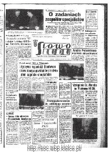 Słowo Ludu : organ Komitetu Wojewódzkiego Polskiej Zjednoczonej Partii Robotniczej, 1967, R.19, nr 334