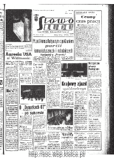 Słowo Ludu : organ Komitetu Wojewódzkiego Polskiej Zjednoczonej Partii Robotniczej, 1967, R.19, nr 340