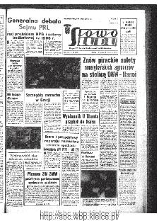 Słowo Ludu : organ Komitetu Wojewódzkiego Polskiej Zjednoczonej Partii Robotniczej, 1967, R.19, nr 353