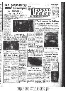 Słowo Ludu : organ Komitetu Wojewódzkiego Polskiej Zjednoczonej Partii Robotniczej, 1967, R.19, nr 363