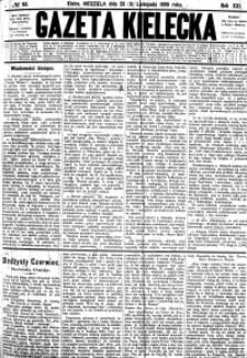 Gazeta Kielecka, 1890, R.21, nr 58