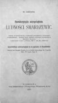 Charakterystyka antropologiczna ludności Smardzewic = Caracteristique anthropologique de la population de Smardzewice