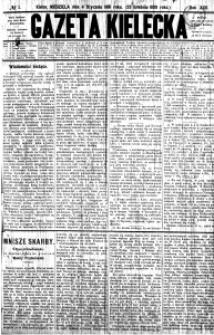Gazeta Kielecka, 1891, R.22, nr 11