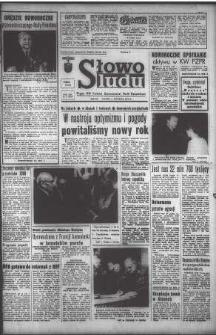 Słowo Ludu : organ Komitetu Wojewódzkiego Polskiej Zjednoczonej Partii Robotniczej, 1971, R.XXII, nr 1 (magazyn)