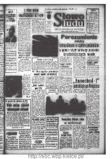 Słowo Ludu : organ Komitetu Wojewódzkiego Polskiej Zjednoczonej Partii Robotniczej, 1971, R.XXII, nr 28