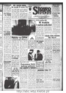 Słowo Ludu : organ Komitetu Wojewódzkiego Polskiej Zjednoczonej Partii Robotniczej, 1972, R.XXIII, nr 4